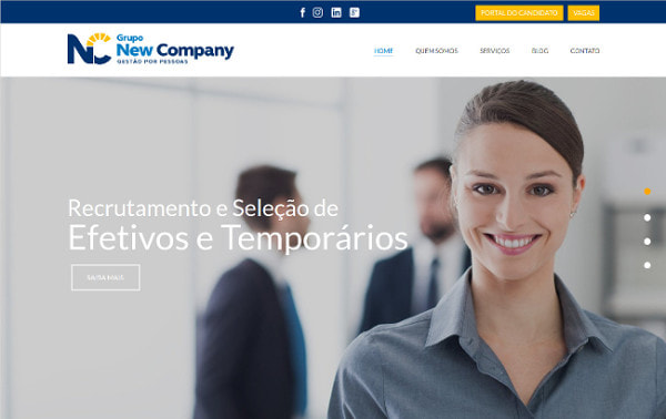 Estudo de caso Grupo New Company e Linking Sites