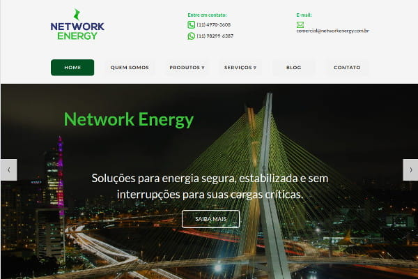Estudo de Caso Network Energy e Linking Sites